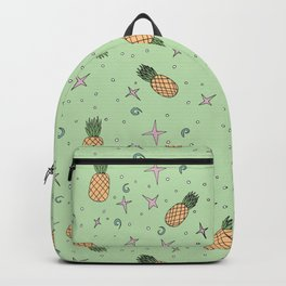 Atomic Pineapple - Green Backpack