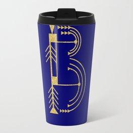 Sacred Geometry Letter B Travel Mug