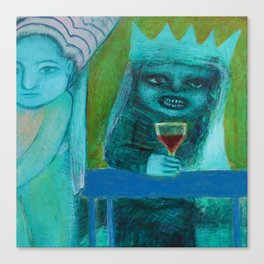 Mer Vin! Canvas Print