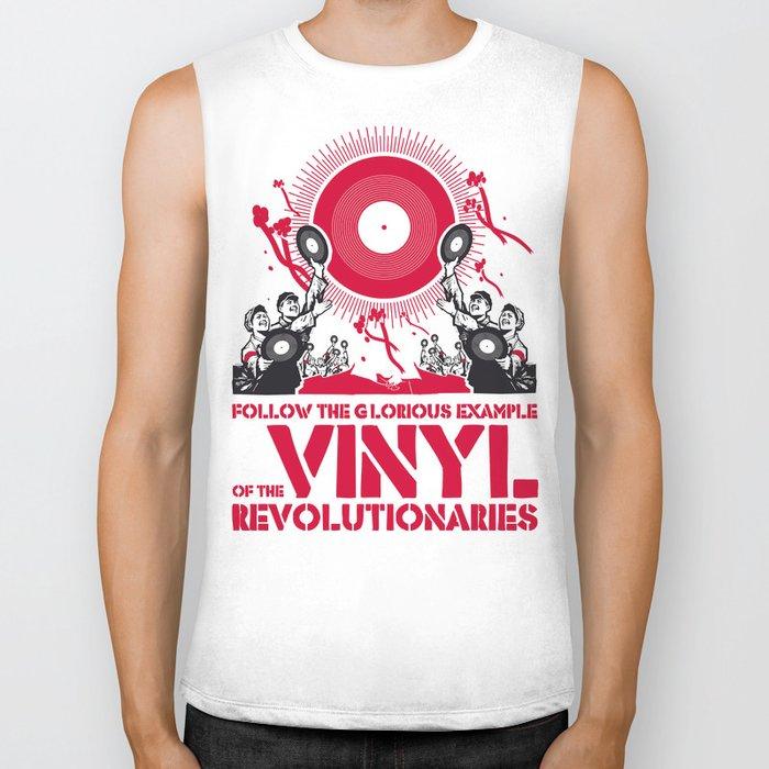 Vinyl Revolution Biker Tank