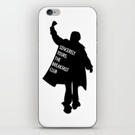 Sincerely Yours, The Breakfast Club iPhone Skin
