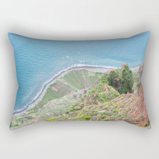Landscape Madeira Portugal Rectangular Pillow