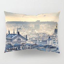 Rooftops in Paris Pillow Sham