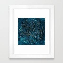Under Constellations Framed Art Print