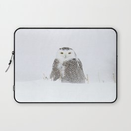 White on white Laptop Sleeve