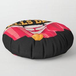 We go balls deep - Funny Beer Pong Gifts Floor Pillow