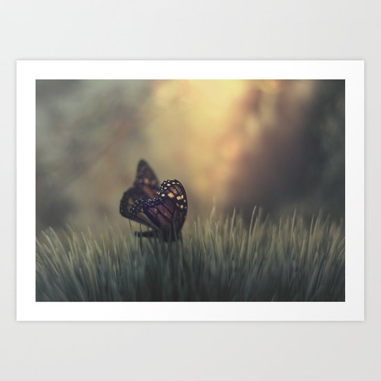 the last hour Art Print