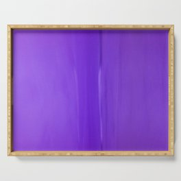 Abstract Purples Serving Tray