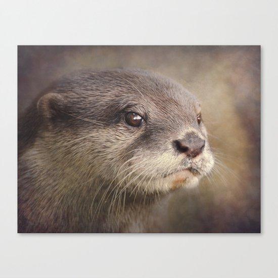 Otterly gorgeous!! Canvas Print