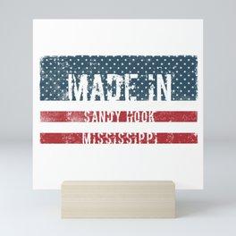 Made in Sandy Hook, Mississippi Mini Art Print