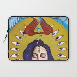 Entering The Mysteries Laptop Sleeve