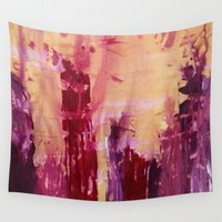 skyline Wall Tapestries featuring Skyline by Stephanie Cole CREATIONS