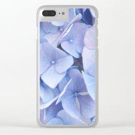 Blue Hydrangeas #3 #decor #art #society6 Clear iPhone Case