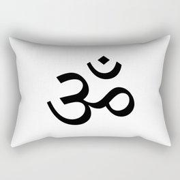Om (Aum, ॐ) Symbol Rectangular Pillow