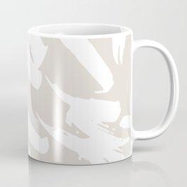 Neutral Brush Strokes Coffee Mug