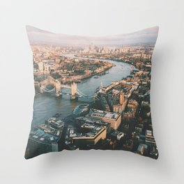 Top of the Shard Throw Pillow