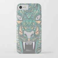 teeth iPhone & iPod Cases featuring Teeth by Alexandria Robinson
