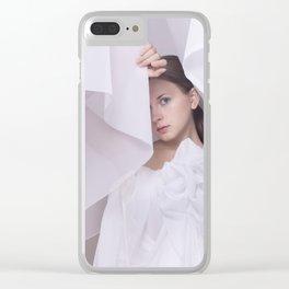 bride Clear iPhone Case