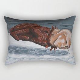 the rut Rectangular Pillow