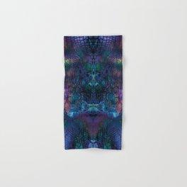Violet snake skin pattern Hand & Bath Towel