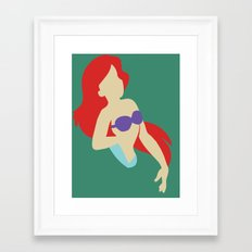 Ariel - The Little Mermaid Framed Art Print