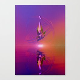 Protected by Centripetal Motion Canvas Print
