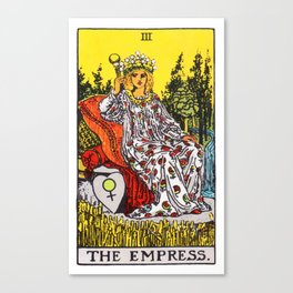 03 - The Empress Canvas Print