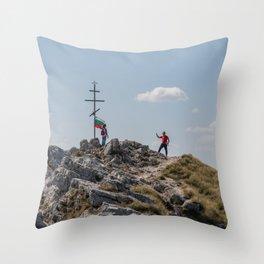 Shipka Pass in Bulgaria Throw Pillow