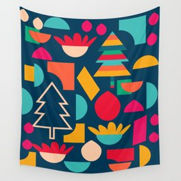 Funny Christmas games Wall Tapestry