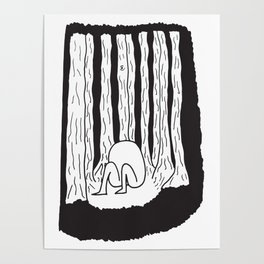 Lost in forest Poster