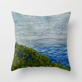 Kahakai Throw Pillow