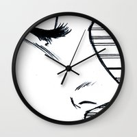 sports Wall Clocks featuring Sports by notalkingplz