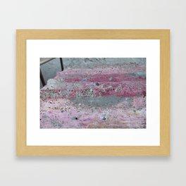 Grimy Steps Framed Art Print