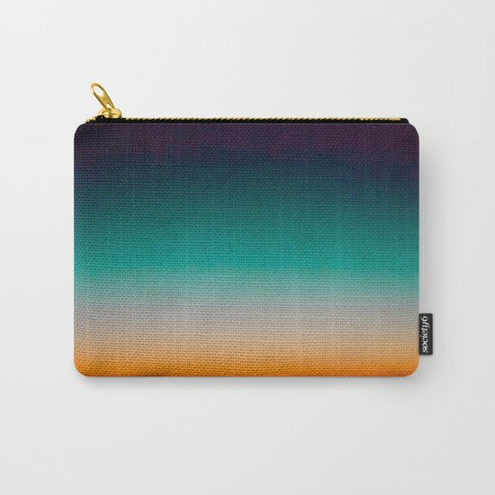 Blue and Yellow Magic Dawn in the Sky Carry-All Pouch