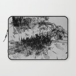 Alyeska in Monochrome no. 7 Laptop Sleeve