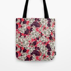 silver blossoms Tote Bag