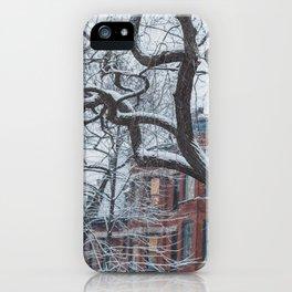 Chicago Winter Wonderland iPhone Case