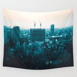 Osaka morning Wall Tapestry