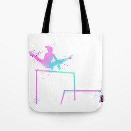 Gymnast - Bars Tote Bag