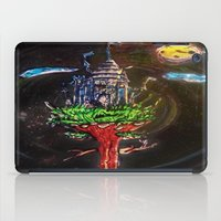 castle in the sky iPad Cases featuring Castle in the Sky by Sarah Maurer