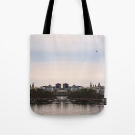 Ottawa reflection Tote Bag