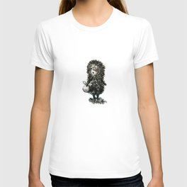 Hedgehog in the fog T-shirt
