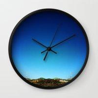 hollywood Wall Clocks featuring Hollywood by Virgini Bedard