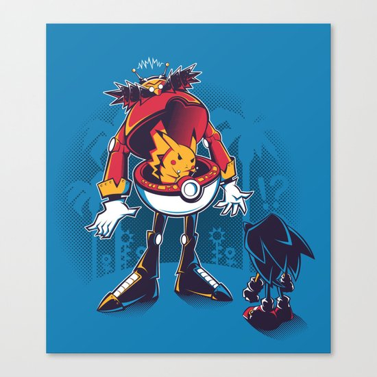 Gotta Crush 'Em All Canvas Print