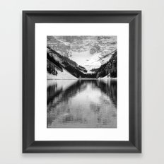 Water Reflections Framed Art Print