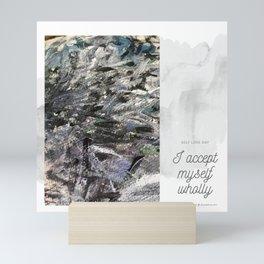 Self Acceptance Mini Art Print