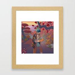 Ukiyo-e tale: The curse Framed Art Print