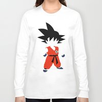 goku Long Sleeve T-shirts featuring Goku by JHTY