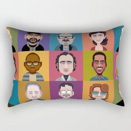 Comics of Comedy: XK9 Edition Rectangular Pillow