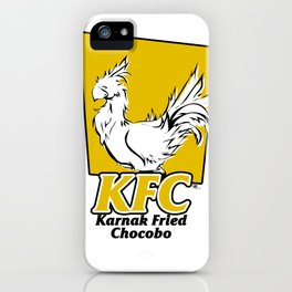 Karnak Fried Chocobo iPhone Case